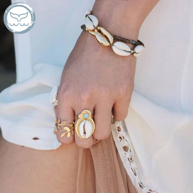 bracelet cauri or