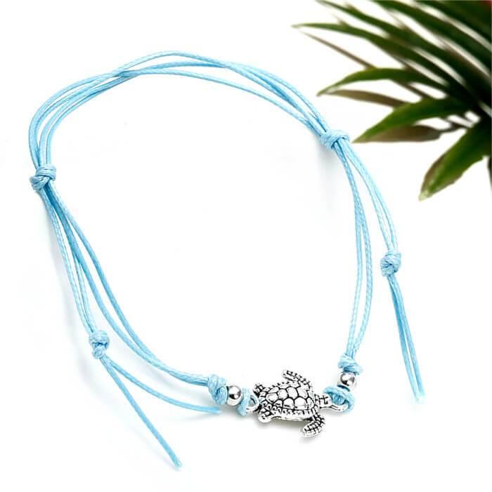 Bracelet de cheville Tortue - Instinct-ocean