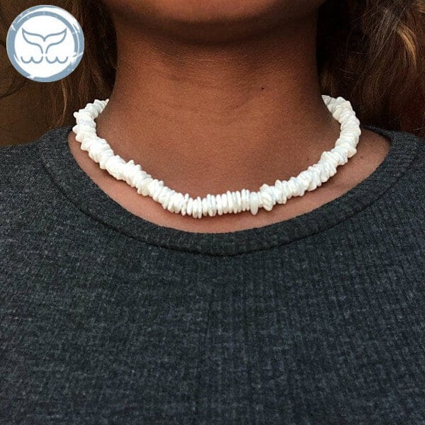 Collier coquillage tahitien