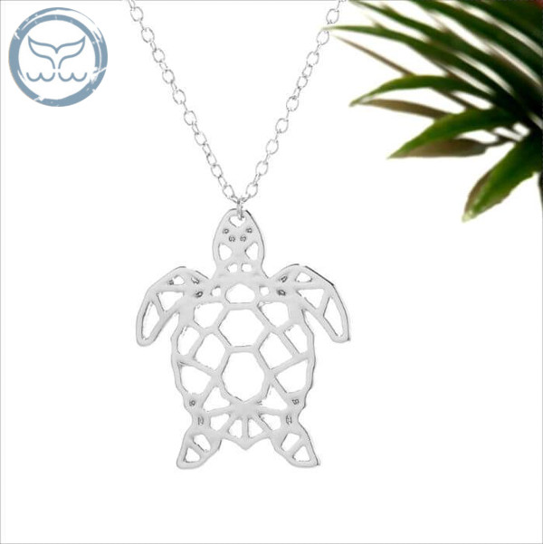 Pendentif tortue Geometric Collection