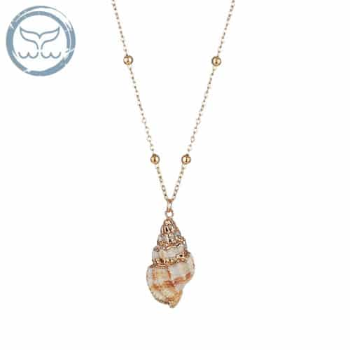 collier coquillage triton