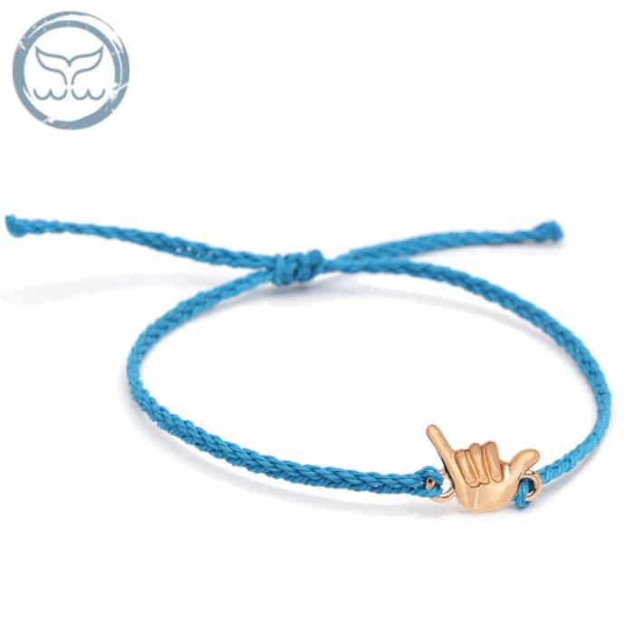 bracelet surf Aloha Bleu